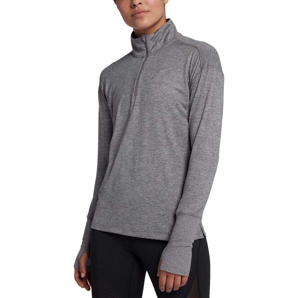 ナイキ Nike レディース ランニング・ウォーキング トップス【Element Half-Zip Running Pullover】Gunsmoke/Atmosphere Grey