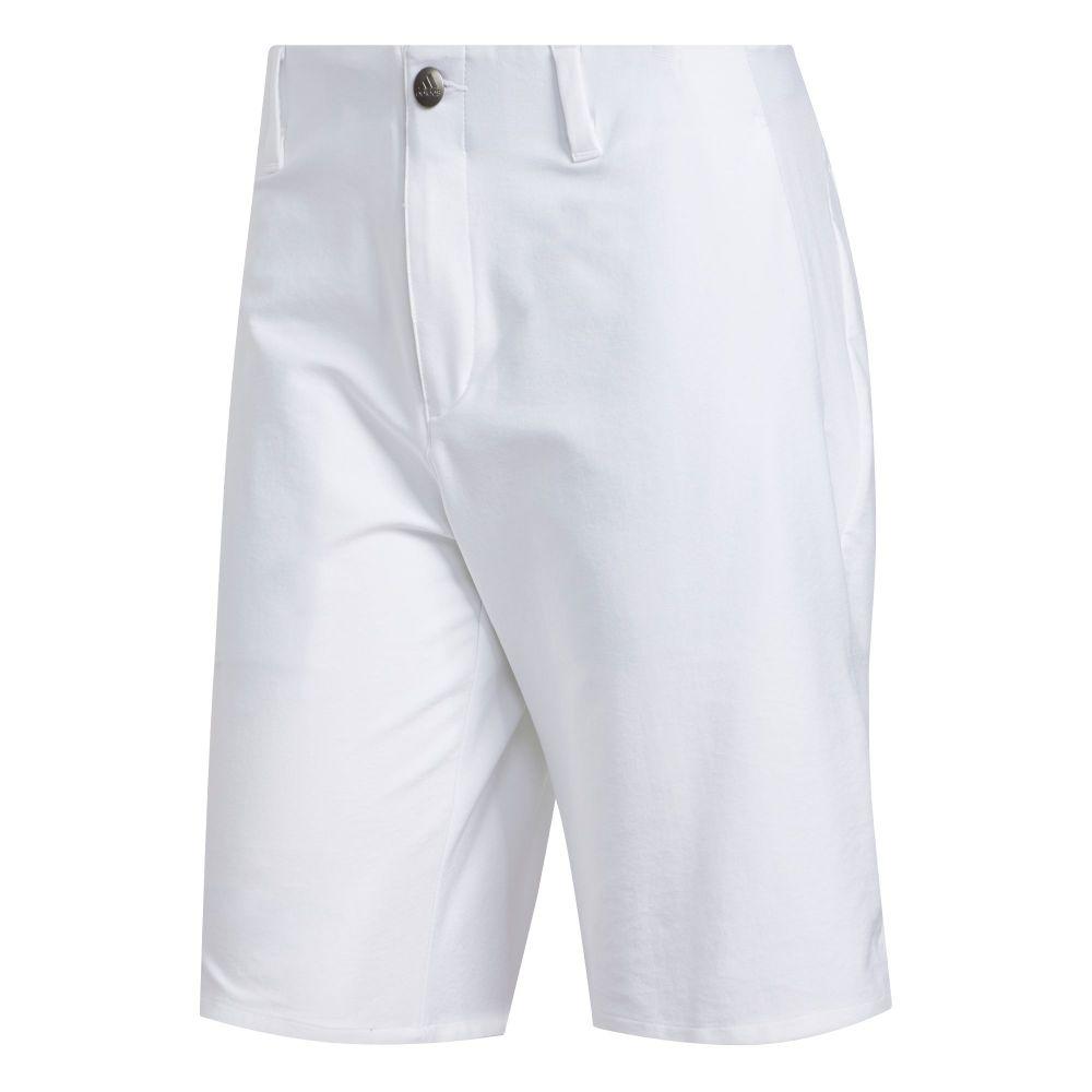 アディダス adidas Golf メンズ ゴルフ ショートパンツ ボトムス・パンツ【adidas Ultimate365 3-Stripe Golf Shorts】White