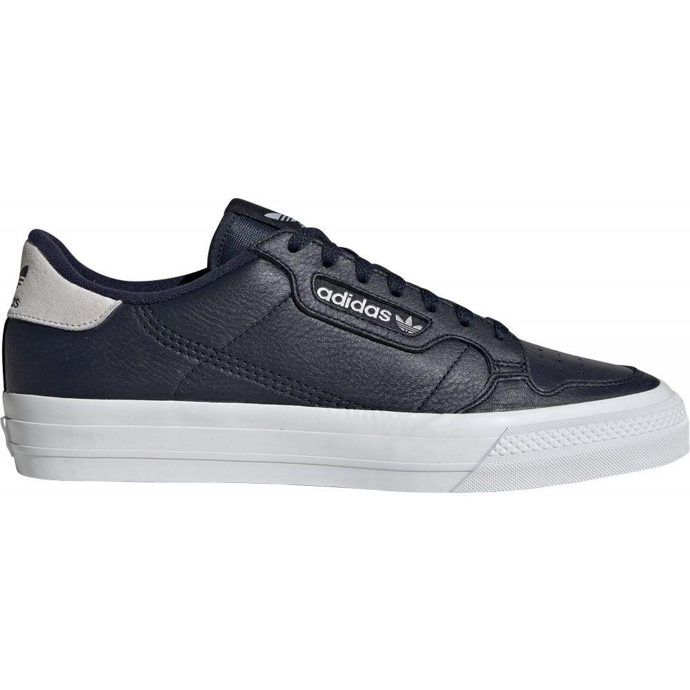 アディダス adidas メンズ スニーカー シューズ・靴【Continental Vulcanized Leather Shoes】Blue/Grey