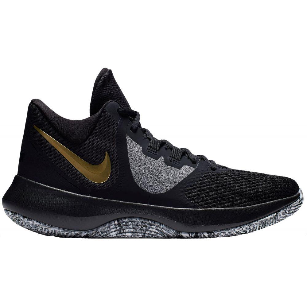 ナイキ Nike メンズ バスケットボール シューズ・靴【Air Precision 2 Basketball Shoes】Black/Gold Metallic
