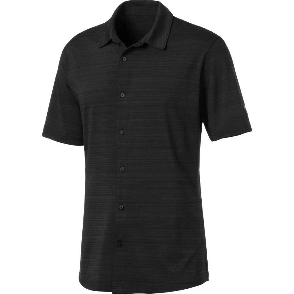 プーマ メンズ ゴルフ トップス 【サイズ交換無料】 プーマ PUMA メンズ ゴルフ トップス【Breezer Golf Shirt】Puma Black
