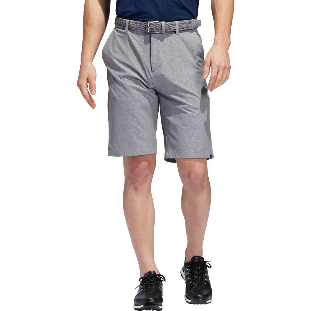 アディダス メンズ ゴルフ ボトムス・パンツ 【サイズ交換無料】 アディダス adidas メンズ ゴルフ ショートパンツ ボトムス・パンツ【Ultimate Camo Print Golf Shorts】Grey Three