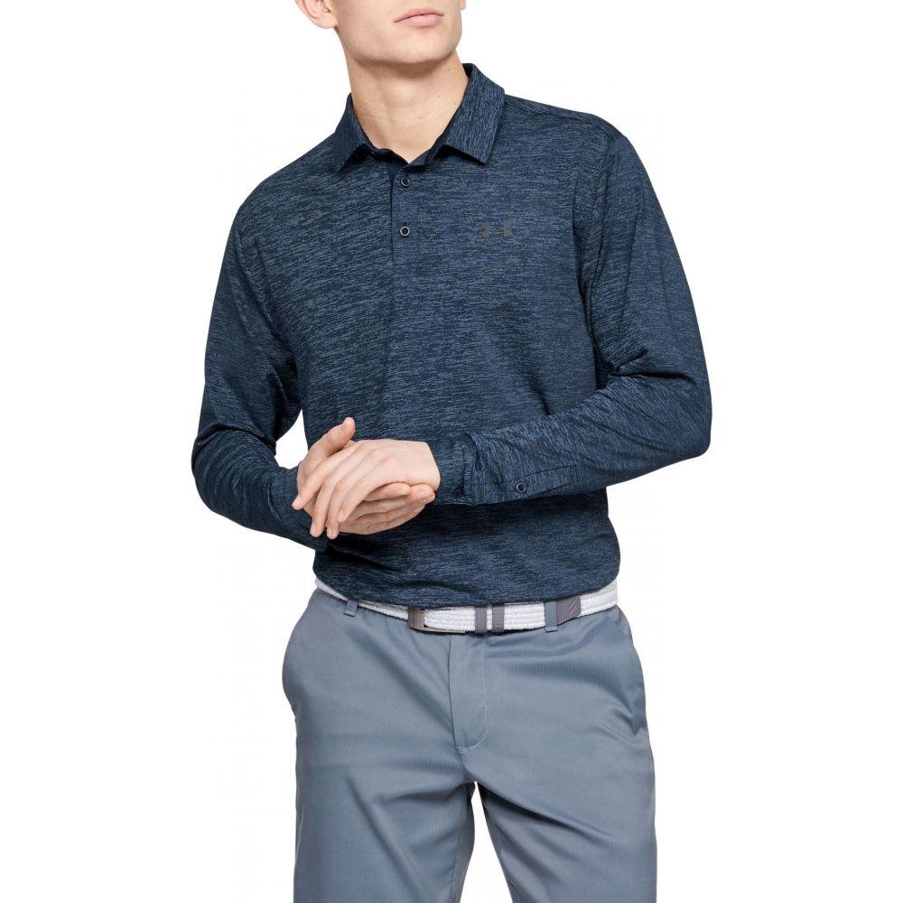 アンダーアーマー Under Armour メンズ ゴルフ ポロシャツ トップス【Playoff 2.0 Long Sleeve Golf Polo】Academy