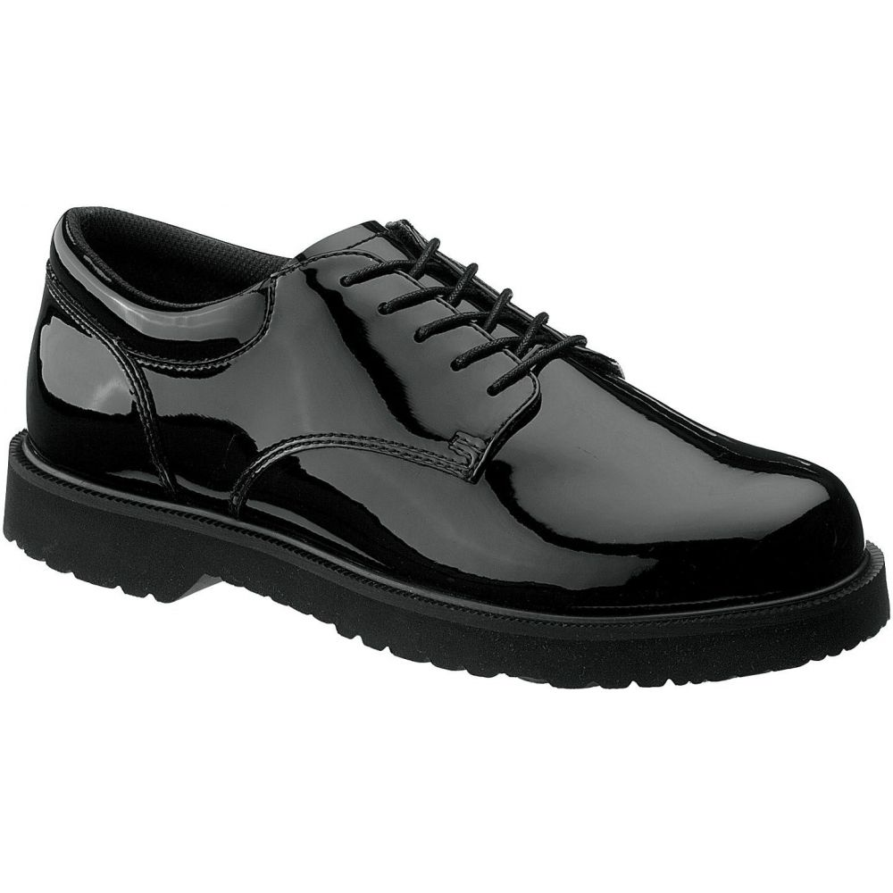 ベイツ Bates メンズ シューズ・靴 【High Gloss Duty Oxford Shoes】Black