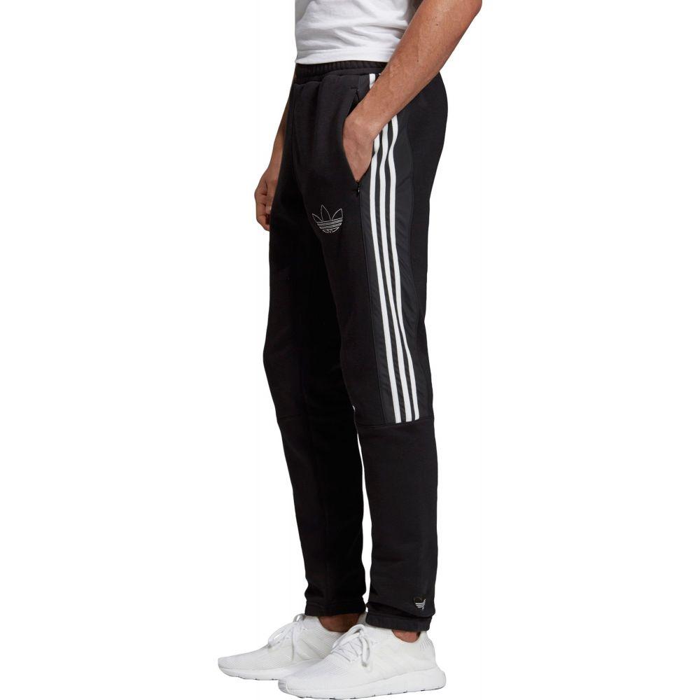 アディダス adidas メンズ スウェット・ジャージ ボトムス・パンツ【Originals Outline Sweatpants】Black