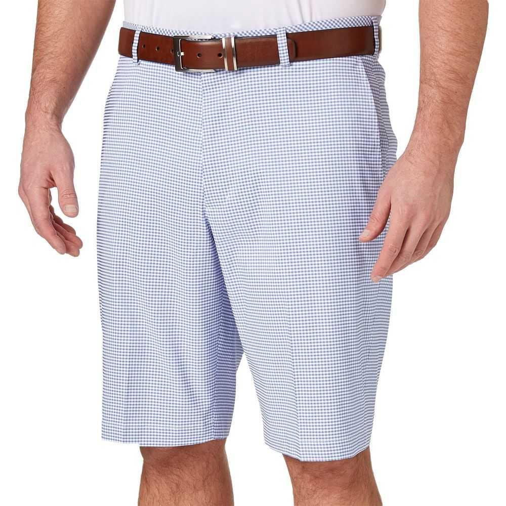ウォルターヘーゲン Walter Hagen メンズ ゴルフ ショートパンツ ボトムス・パンツ【11 Majors Gingham Golf Shorts】Periwinkle