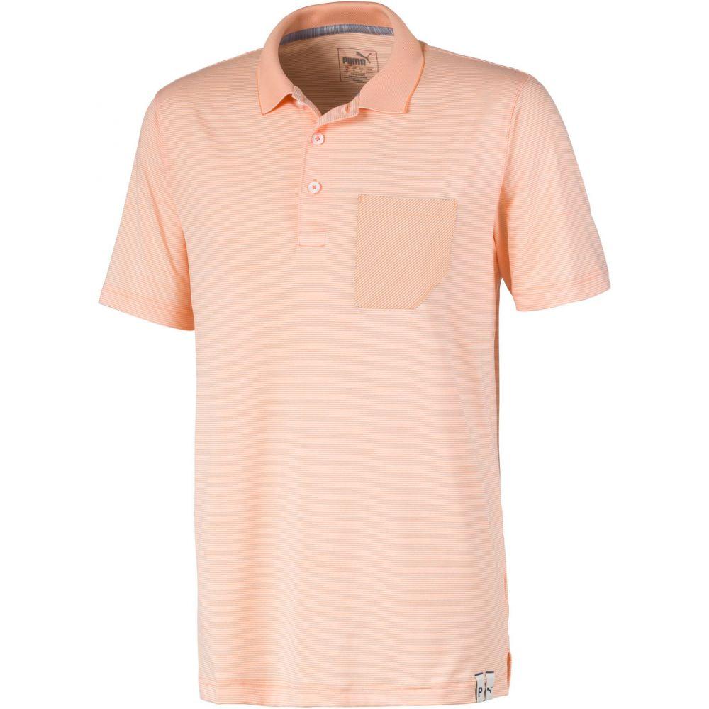 プーマ PUMA メンズ ゴルフ ポロシャツ トップス【Champions Golf Polo】Cantaloupe