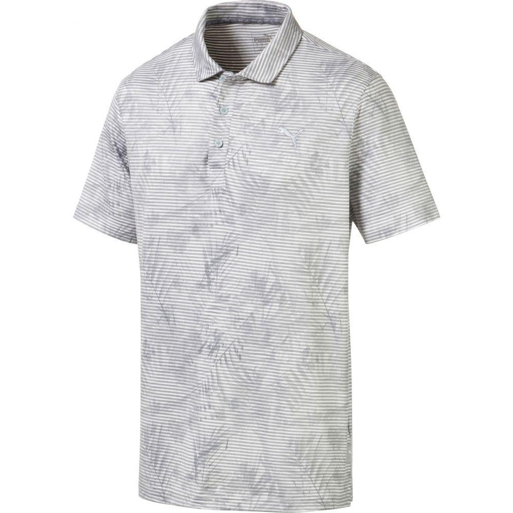 プーマ PUMA メンズ ゴルフ ポロシャツ トップス【Fronds Golf Polo】Quarry