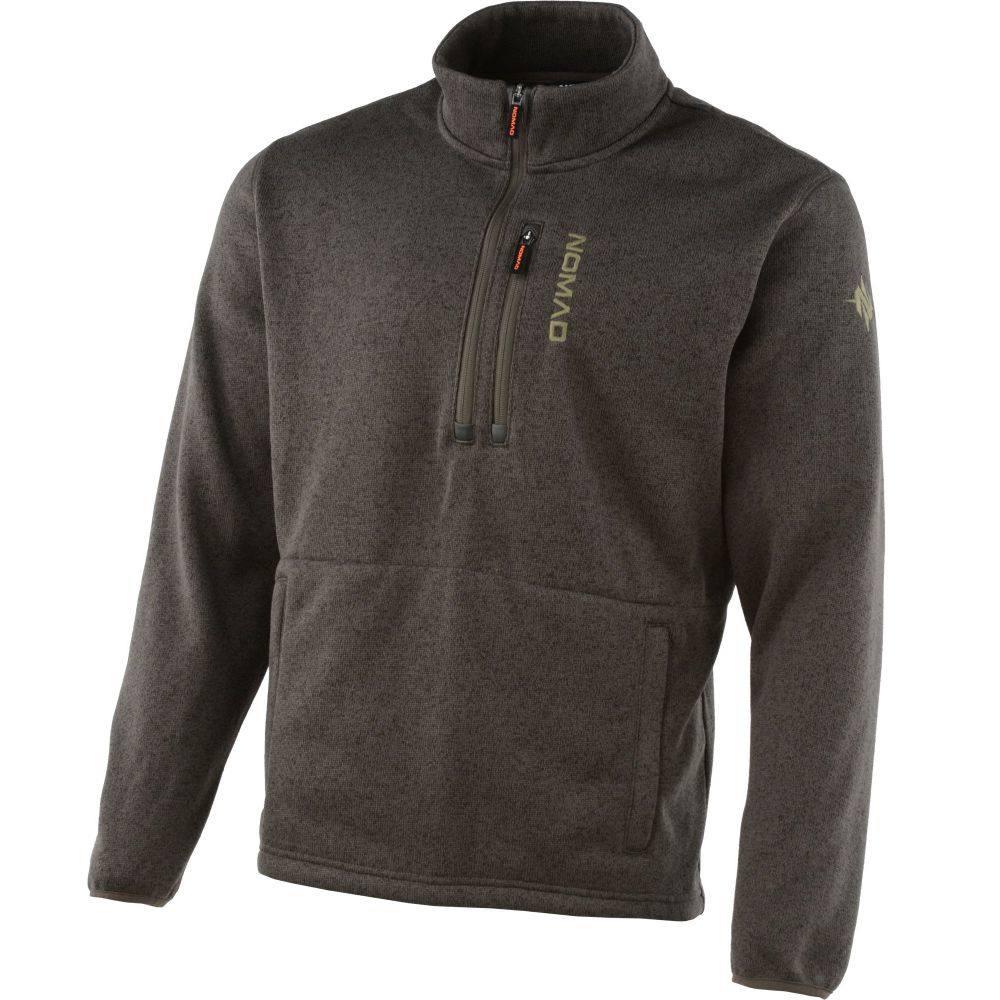 ノマド Nomad メンズ フリース トップス【NOMAD Slaysman 1/4 Zip Fleece Pullover】Mud