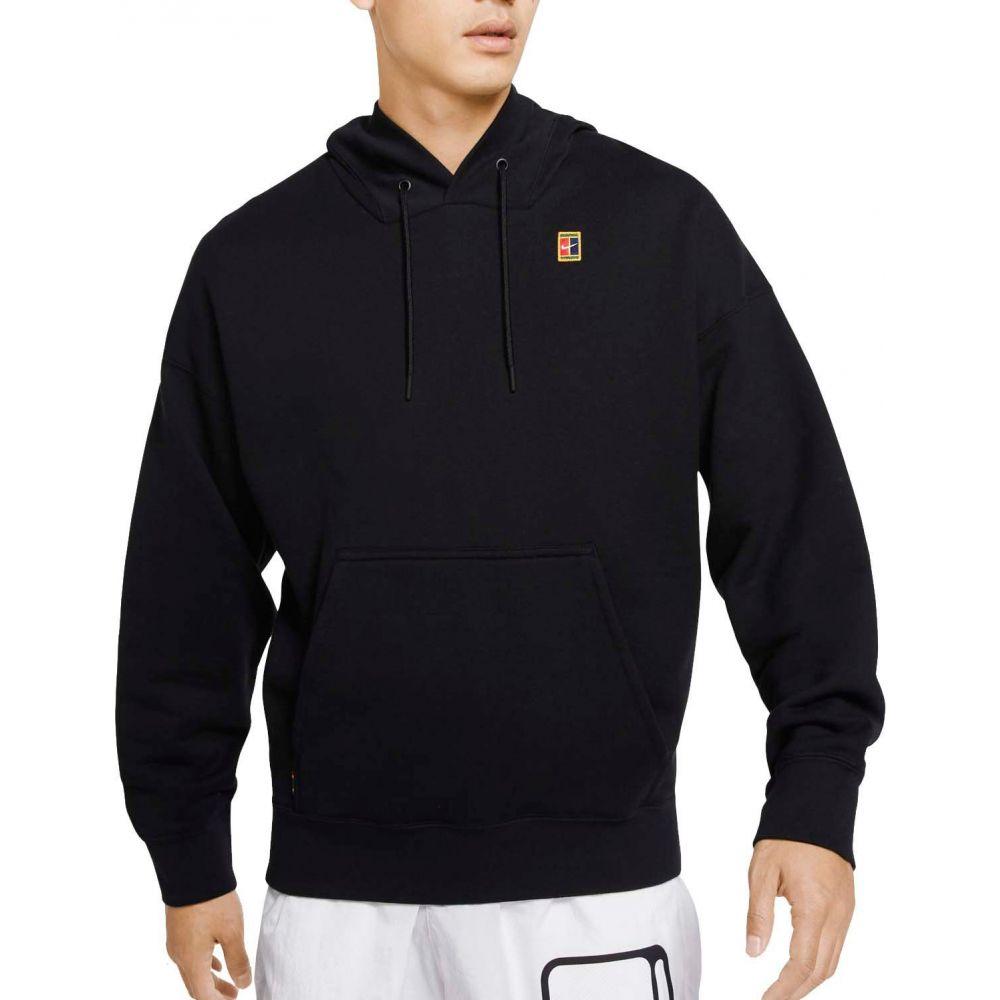 ナイキ Nike メンズ テニス トップス【Court Fleece Tennis Hoodie】Black
