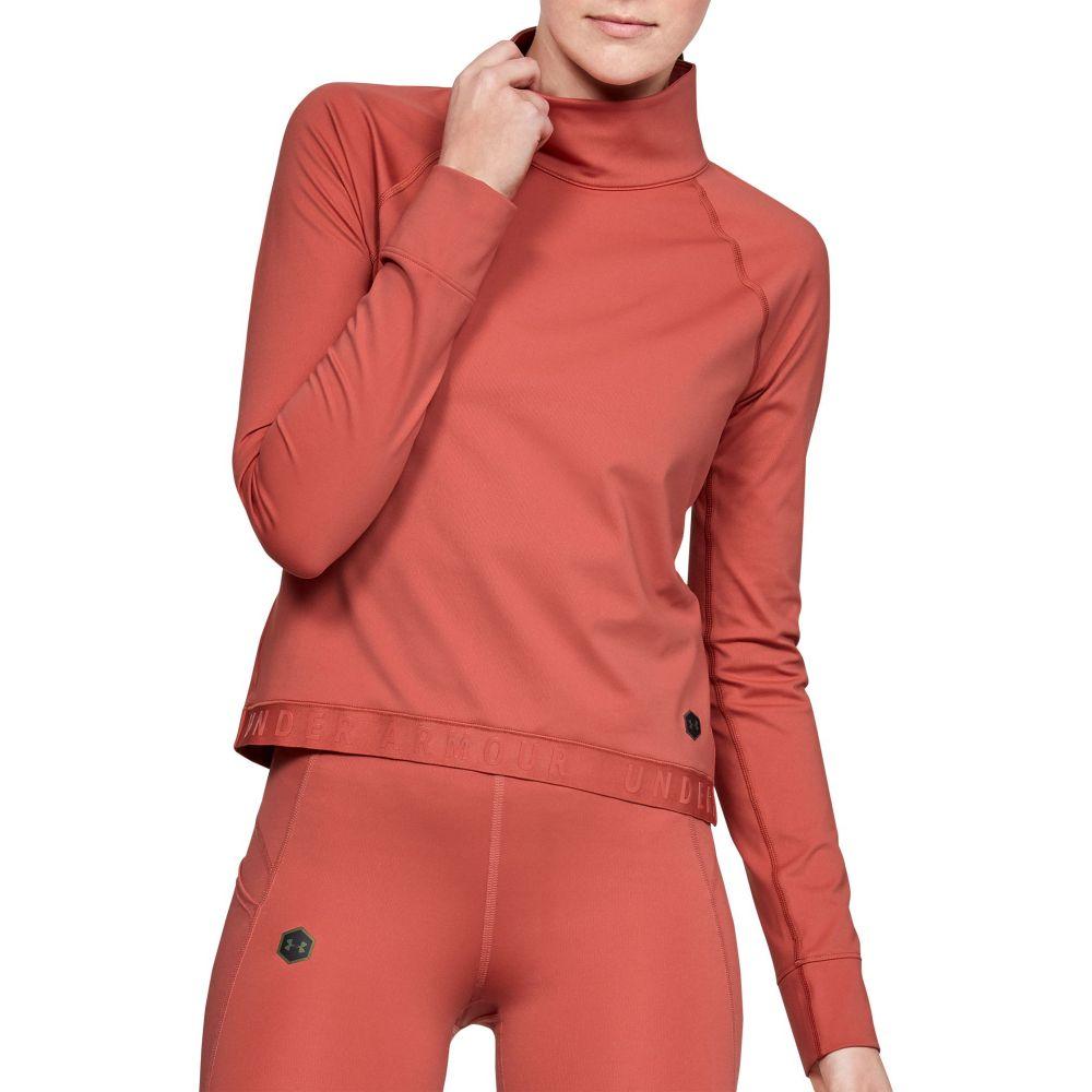 アンダーアーマー Under Armour レディース トップス 【ColdGear Rush Long Sleeve Shirt】Fractal Pink/Black