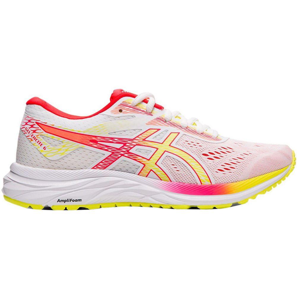 アシックス ASICS レディース ランニング・ウォーキング シューズ・靴【GEL-EXCITE 6 Running Shoes】White/Pink