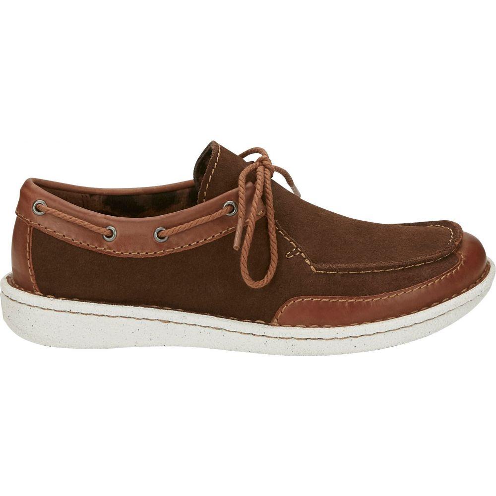 ジャスティンブーツ Justin Boots レディース シューズ・靴 【Justin Boatie Casual Shoes】Chocolate/Tan
