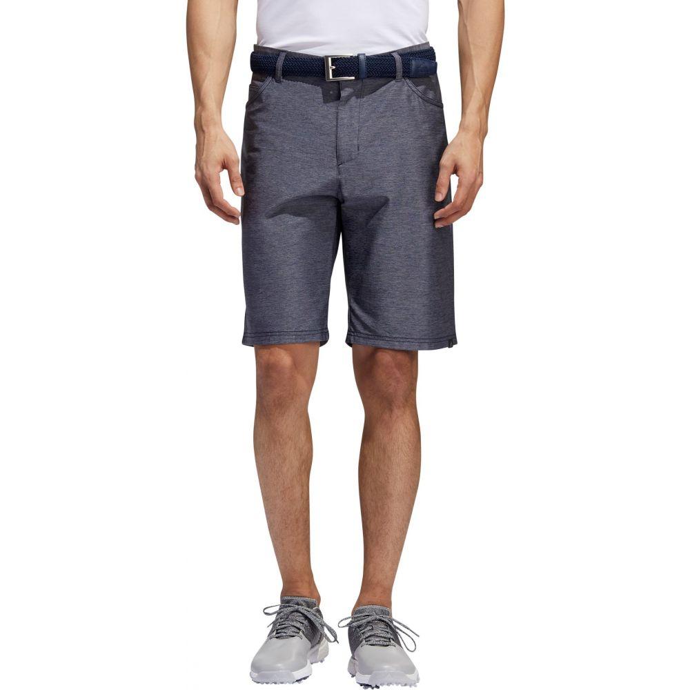 アディダス adidas メンズ ゴルフ ショートパンツ ボトムス・パンツ【Ultimate365 Heather 5 Pocket Golf Shorts】Collegiate Navy