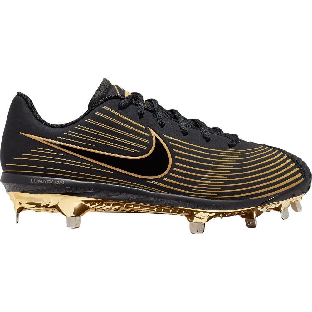 ナイキ Nike レディース 野球 スパイク シューズ・靴【Lunar Hyperdiamond 3 Pro Metal Fastpitch Softball Cleats】Black/Gold