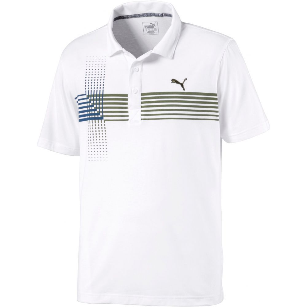 プーマ メンズ ゴルフ トップス 【サイズ交換無料】 プーマ PUMA メンズ ゴルフ ポロシャツ トップス【Coaster Golf Polo】Deep Lichen Green