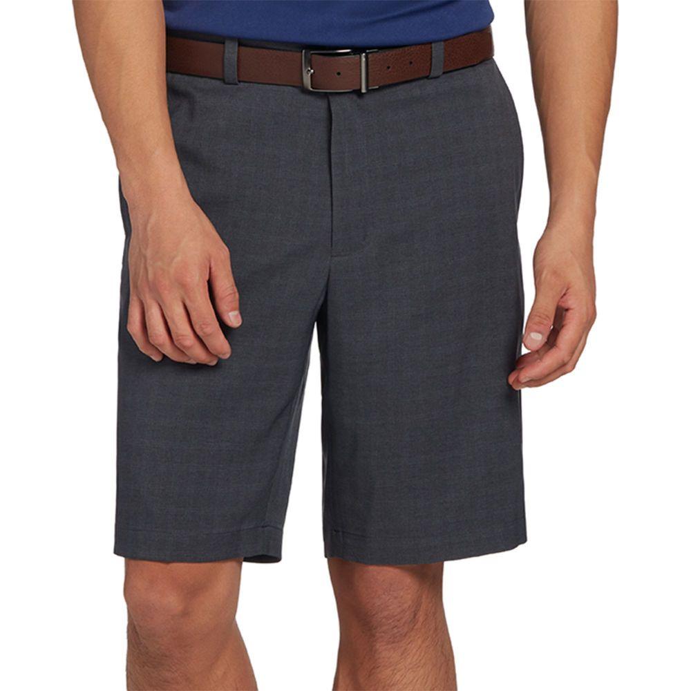 ウォルターヘーゲン Walter Hagen メンズ ゴルフ ショートパンツ ボトムス・パンツ【11 Majors Tonal Plaid Golf Shorts】Black