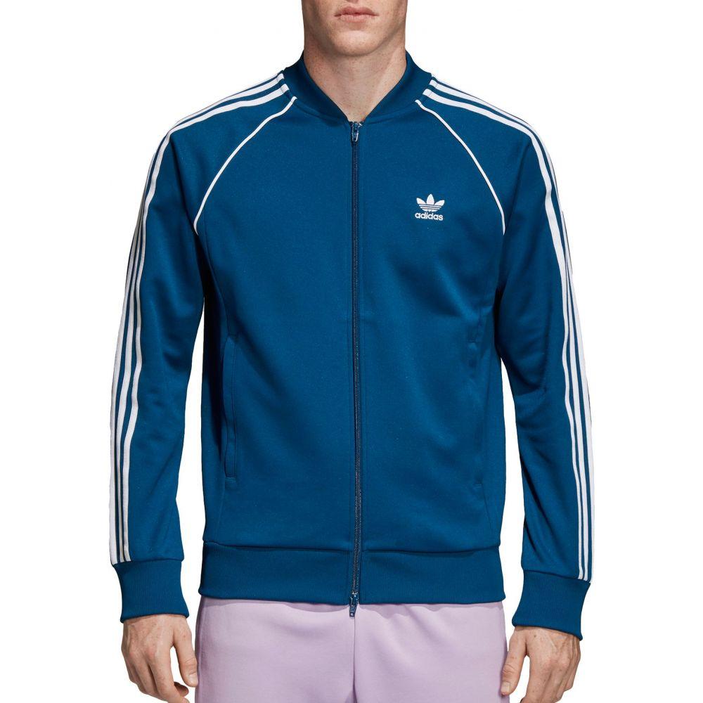 アディダス adidas メンズ ジャージ アウター【Originals Superstar Track Jacket】Legend Marine