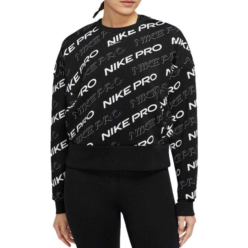 ナイキ Nike レディース フリース トップス【Pro Crewneck Fleece】Black