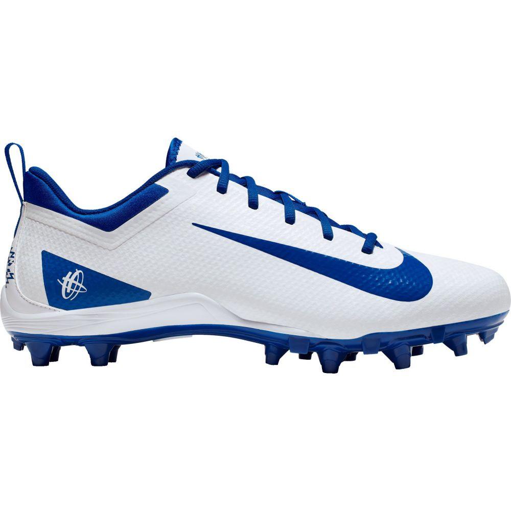 ナイキ Nike メンズ ラクロス スパイク シューズ・靴【Alpha Huarache 7 Varsity Lacrosse Cleats】White/Blue
