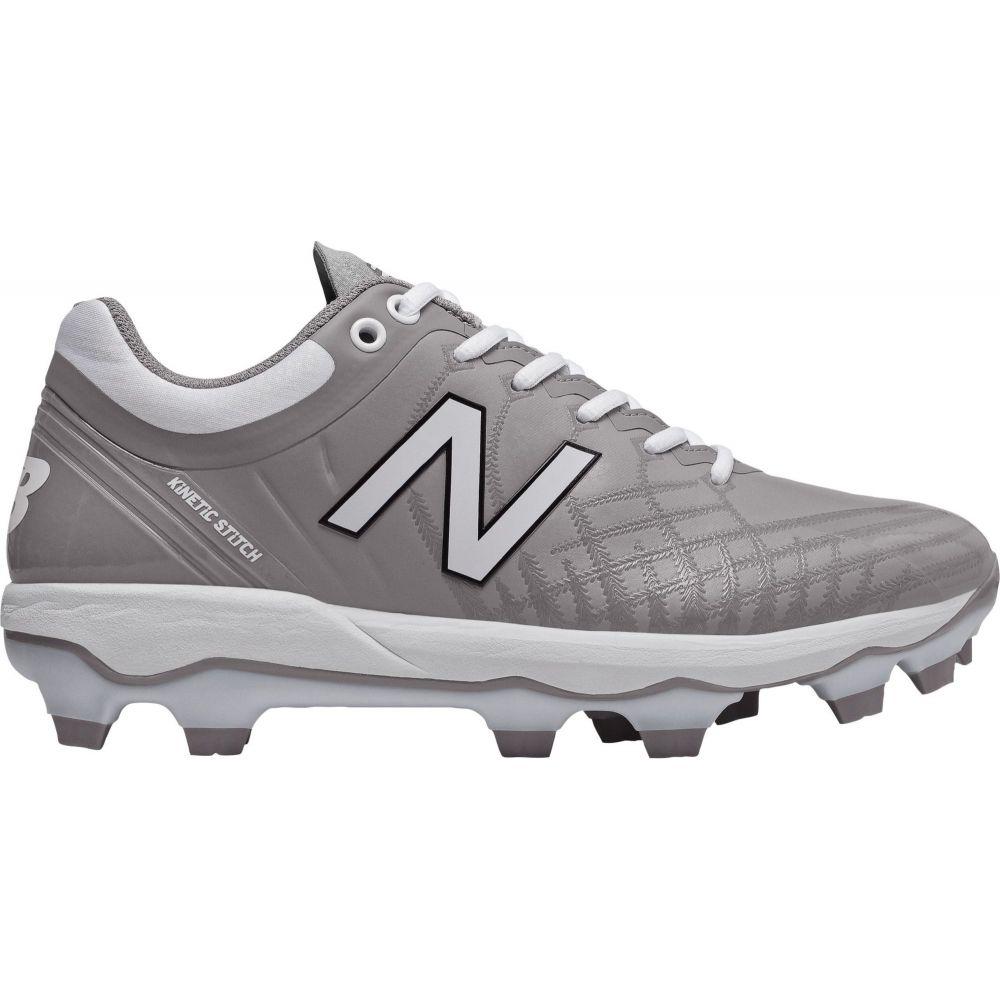 ニューバランス New Balance メンズ 野球 スパイク シューズ・靴【4040 v5 Baseball Cleats】Grey/White