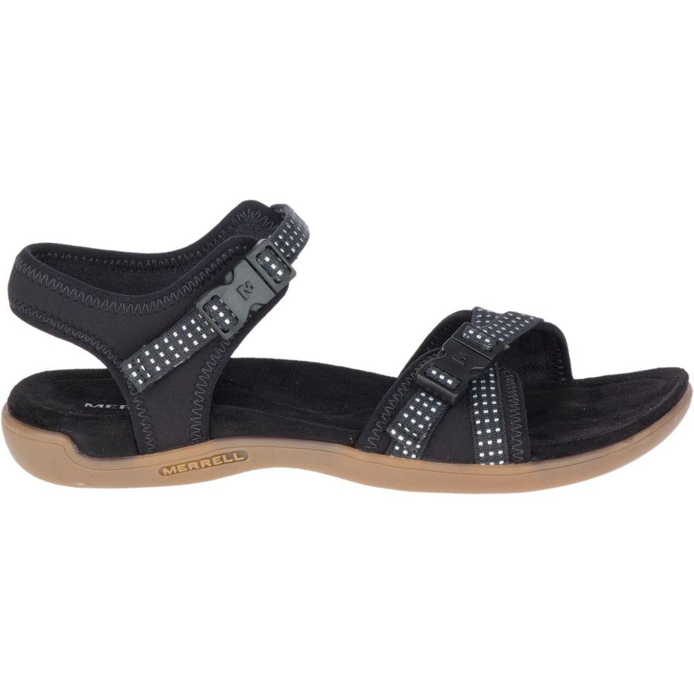 メレル Merrell レディース サンダル・ミュール バックストラップ シューズ・靴【District Muri Backstrap Sandals】Black