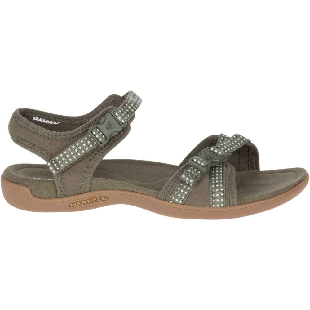 メレル Merrell レディース サンダル・ミュール バックストラップ シューズ・靴【District Muri Backstrap Sandals】Olive