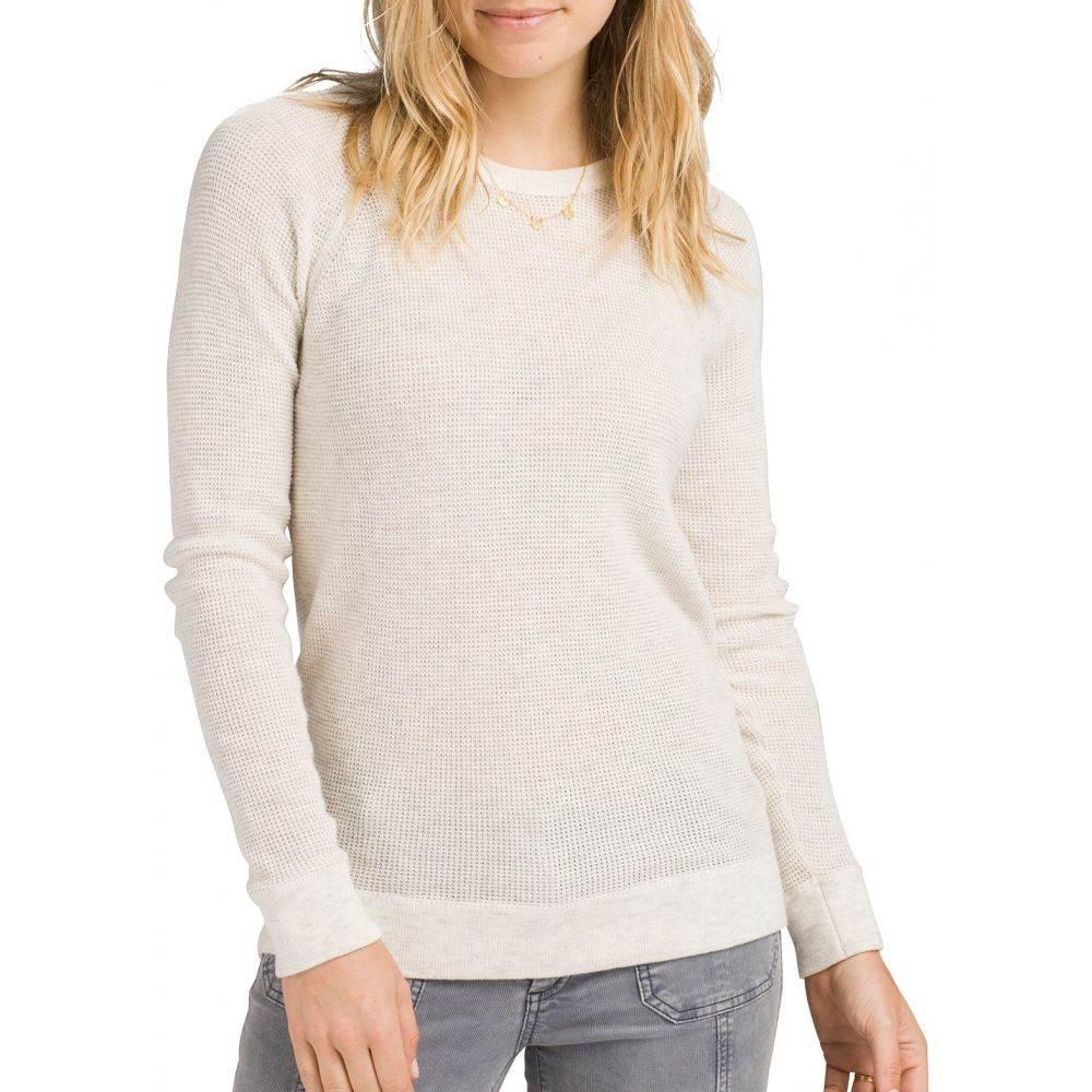 プラーナ prAna レディース ニット・セーター トップス【Milani Crew Sweater】Moonlight Heather