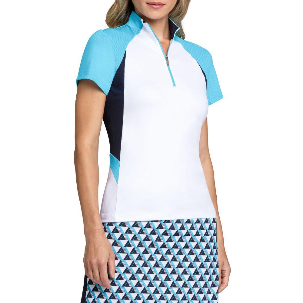 テイル Tail レディース ゴルフ 半袖 トップス【Kristina Short Sleeve Golf Polo】Chalk