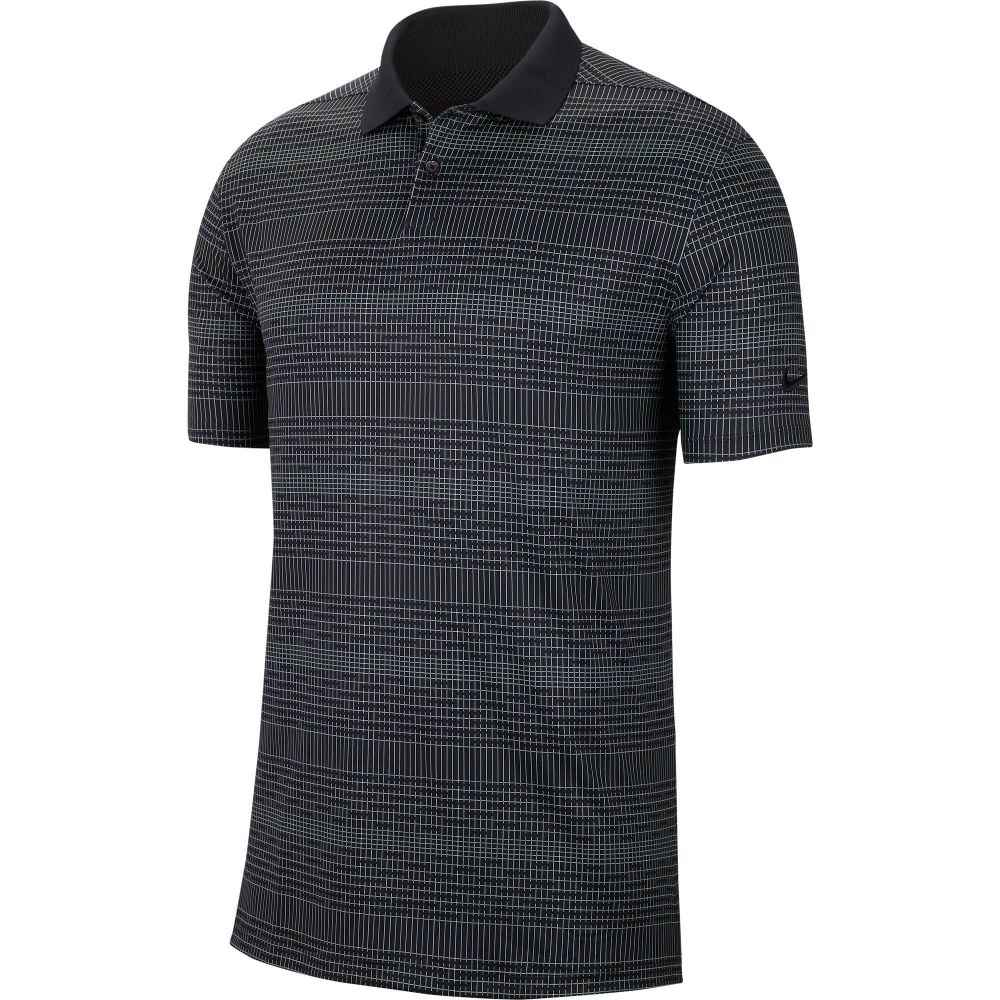 ナイキ Nike メンズ ゴルフ ポロシャツ トップス【Vapor Print Golf Polo】Black