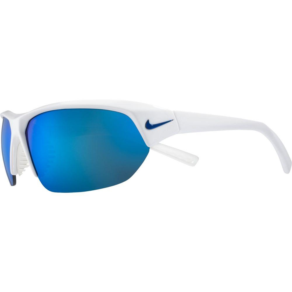 ナイキ Nike ユニセックス メガネ・サングラス 【Skylon Ace Sunglasses】Shiny Wht/Grey/Blue Mir