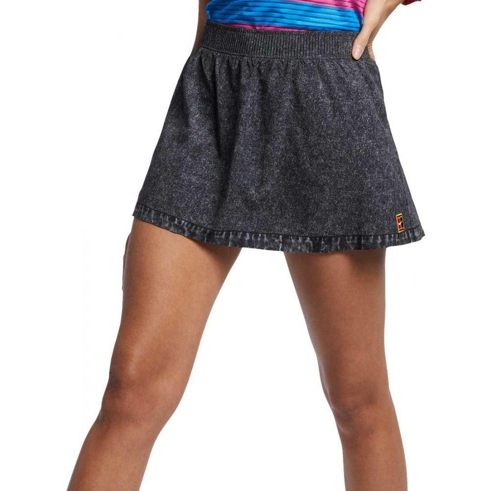 ナイキ Nike レディース テニス ドライフィット スカート ボトムス・パンツ【Court Dri-FIT Slam Tennis Skort】Grey