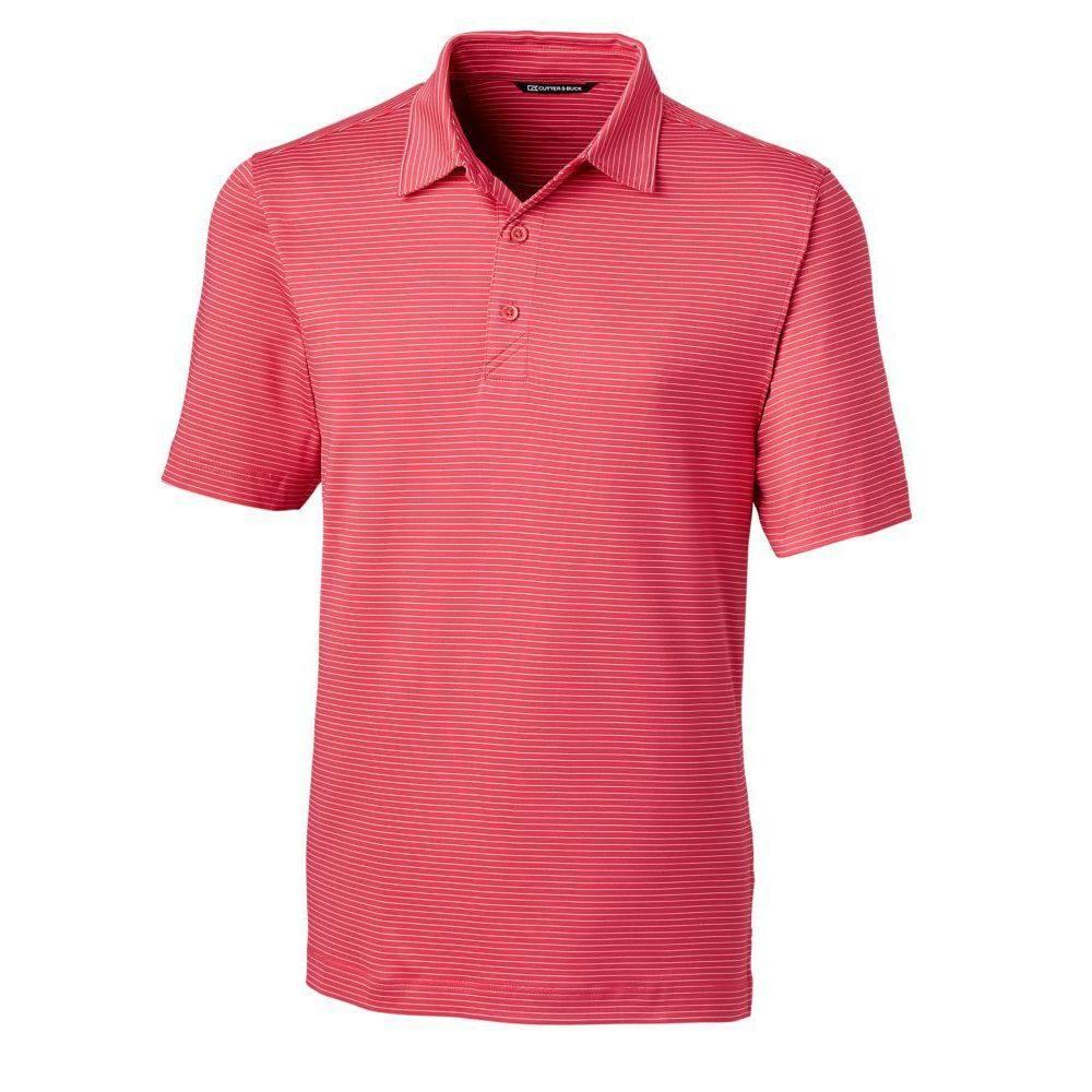 カッターバック メンズ ゴルフ トップス 【サイズ交換無料】 カッターバック Cutter  Buck メンズ ゴルフ ポロシャツ トップス【Forge Pencil Stripe Golf Polo】Embark