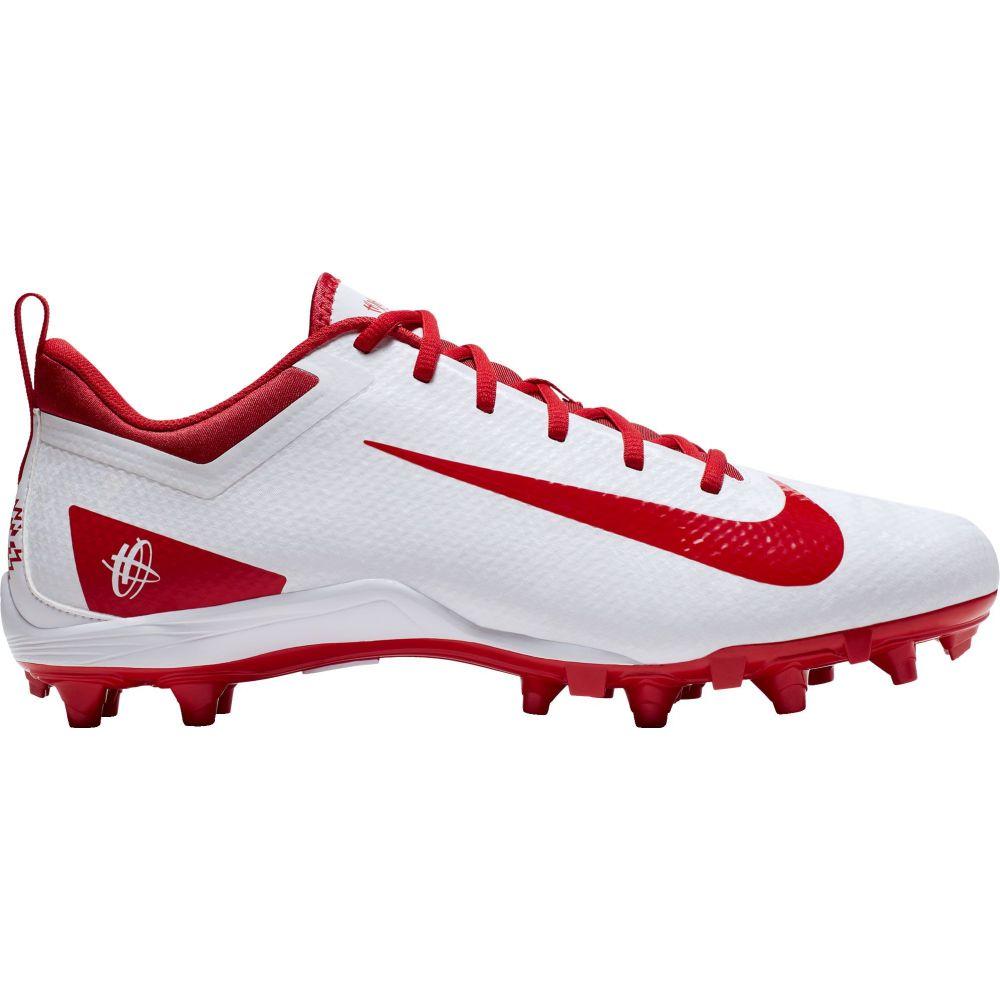 ナイキ Nike メンズ ラクロス スパイク シューズ・靴【Alpha Huarache 7 Varsity Lacrosse Cleats】White/Red