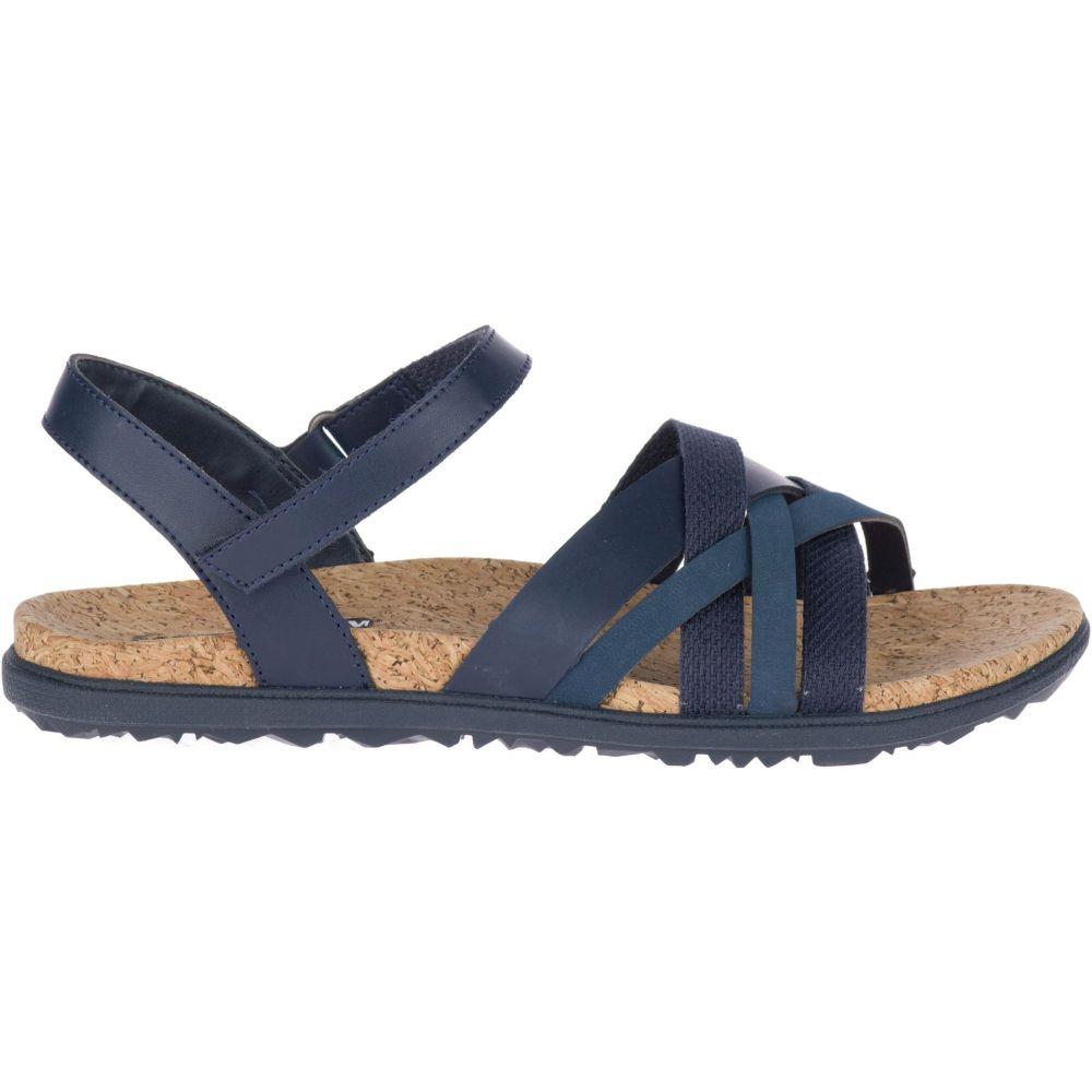 メレル Merrell レディース サンダル・ミュール バックストラップ シューズ・靴【Around Town Arin Backstrap Sandals】Navy