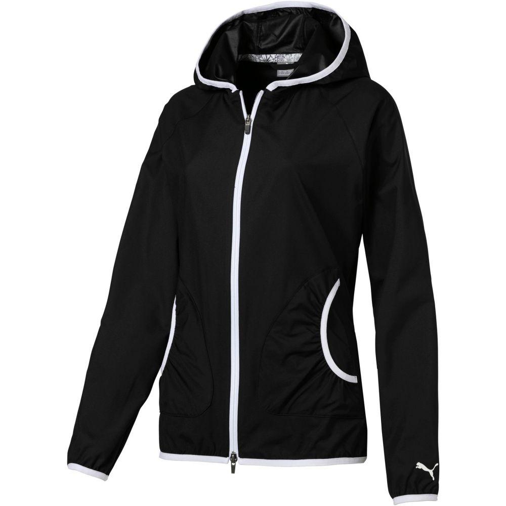 プーマ PUMA レディース ゴルフ ジャケット アウター【Zephyr Full-Zip Golf Jacket】Puma Black