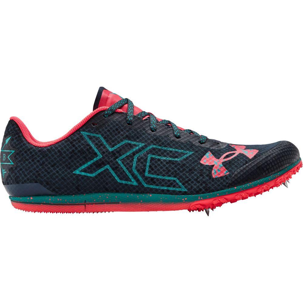 アンダーアーマー Under Armour メンズ 陸上 シューズ・靴【Brigade XC Cross Country Shoes】Wire/Teal Rush/Beta Red