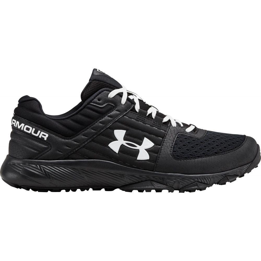 アンダーアーマー Under Armour メンズ 野球 スニーカー シューズ・靴【Yard Trainer Baseball Turf Shoes】Black/White