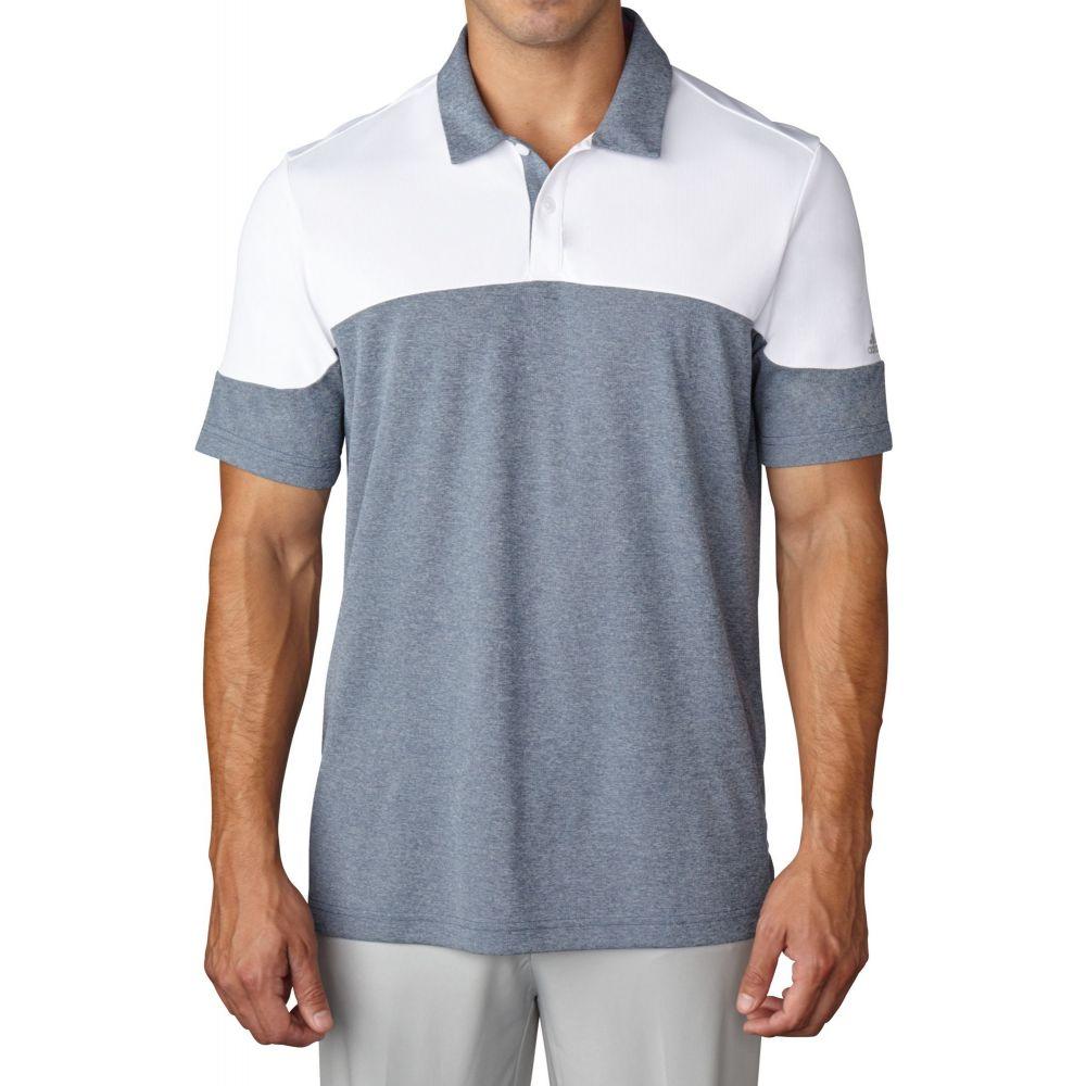 アディダス adidas メンズ ゴルフ ポロシャツ トップス【climachill Blocked Golf Polo】White