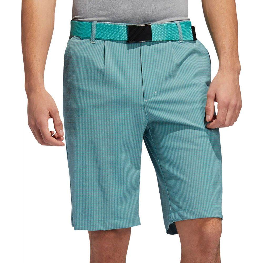 アディダス メンズ ゴルフ ボトムス・パンツ 【サイズ交換無料】 アディダス adidas メンズ ゴルフ ショートパンツ ボトムス・パンツ【Ultimate365 Gingham Golf Shorts】True Green