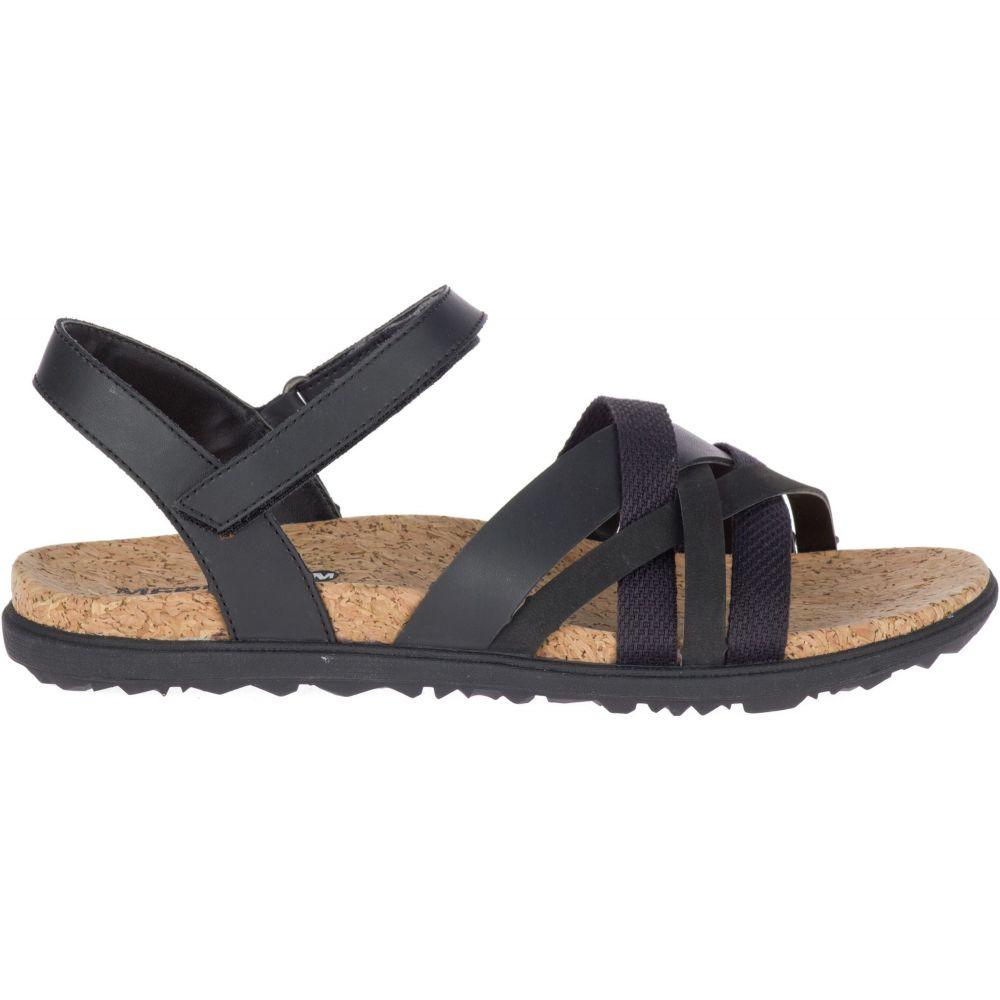メレル Merrell レディース サンダル・ミュール バックストラップ シューズ・靴【Around Town Arin Backstrap Sandals】Black