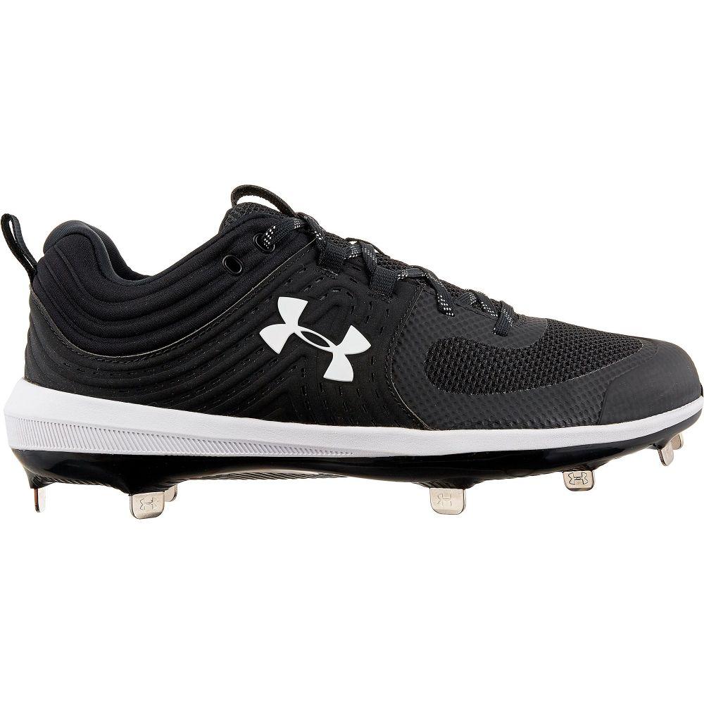アンダーアーマー Under Armour レディース 野球 スパイク シューズ・靴【Glyde Metal Fastpitch Softball Cleats】Black/White