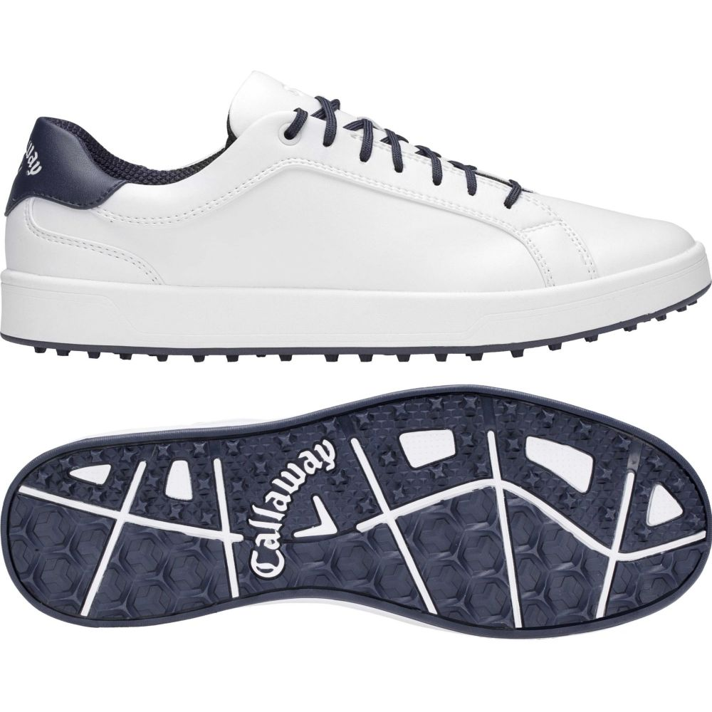 キャロウェイ Callaway メンズ ゴルフ シューズ・靴【Del Mar Golf Shoes】White/Navy