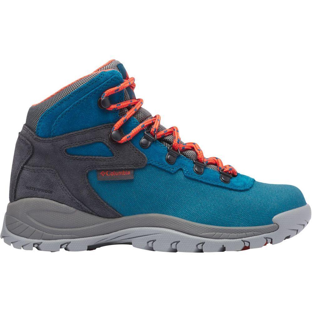 コロンビア Columbia レディース ハイキング・登山 ブーツ シューズ・靴【Newton Ridge Waterproof Hiking Boots】Dark Turquoise