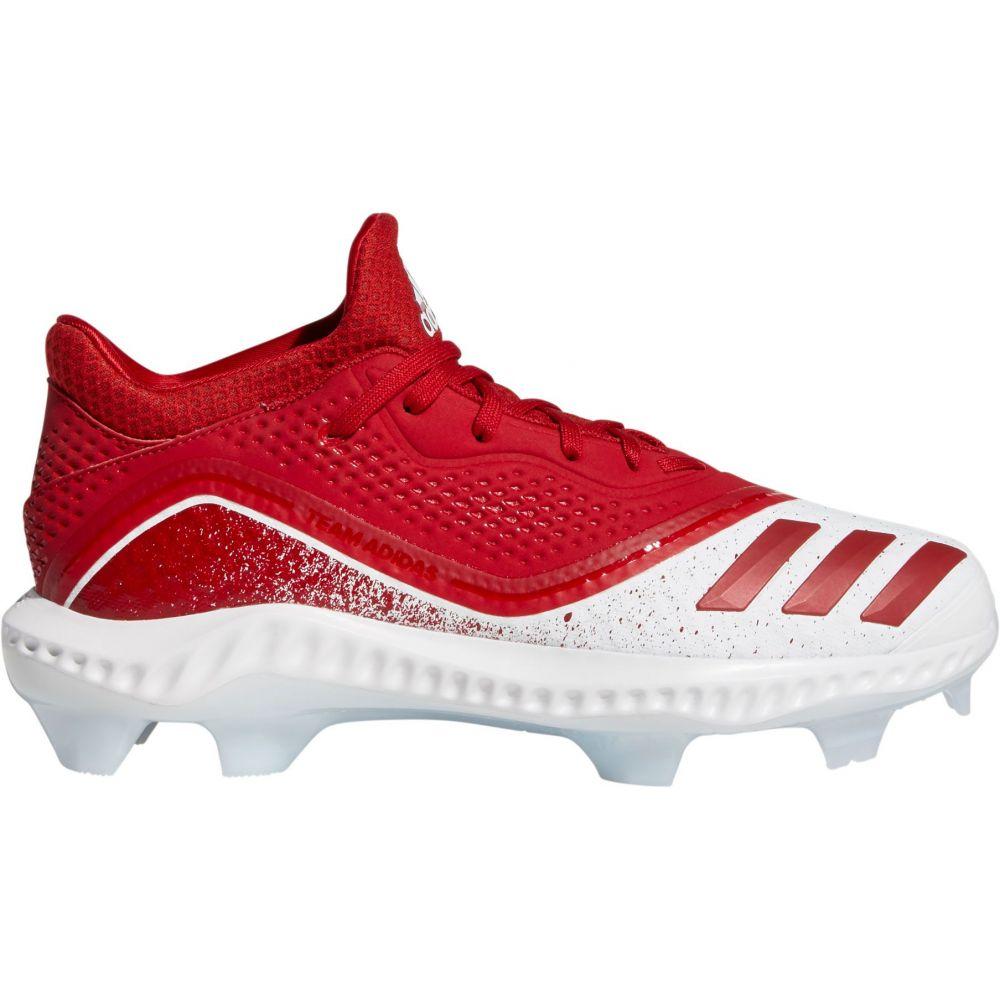 アディダス adidas レディース 野球 スパイク シューズ・靴【Icon V Bounce Softball Cleats】Red/White