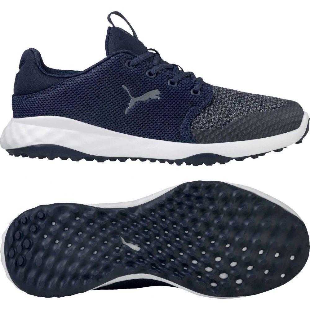 プーマ PUMA メンズ ゴルフ シューズ・靴【GRIP FUSION Sport Golf Shoes】Navy/White