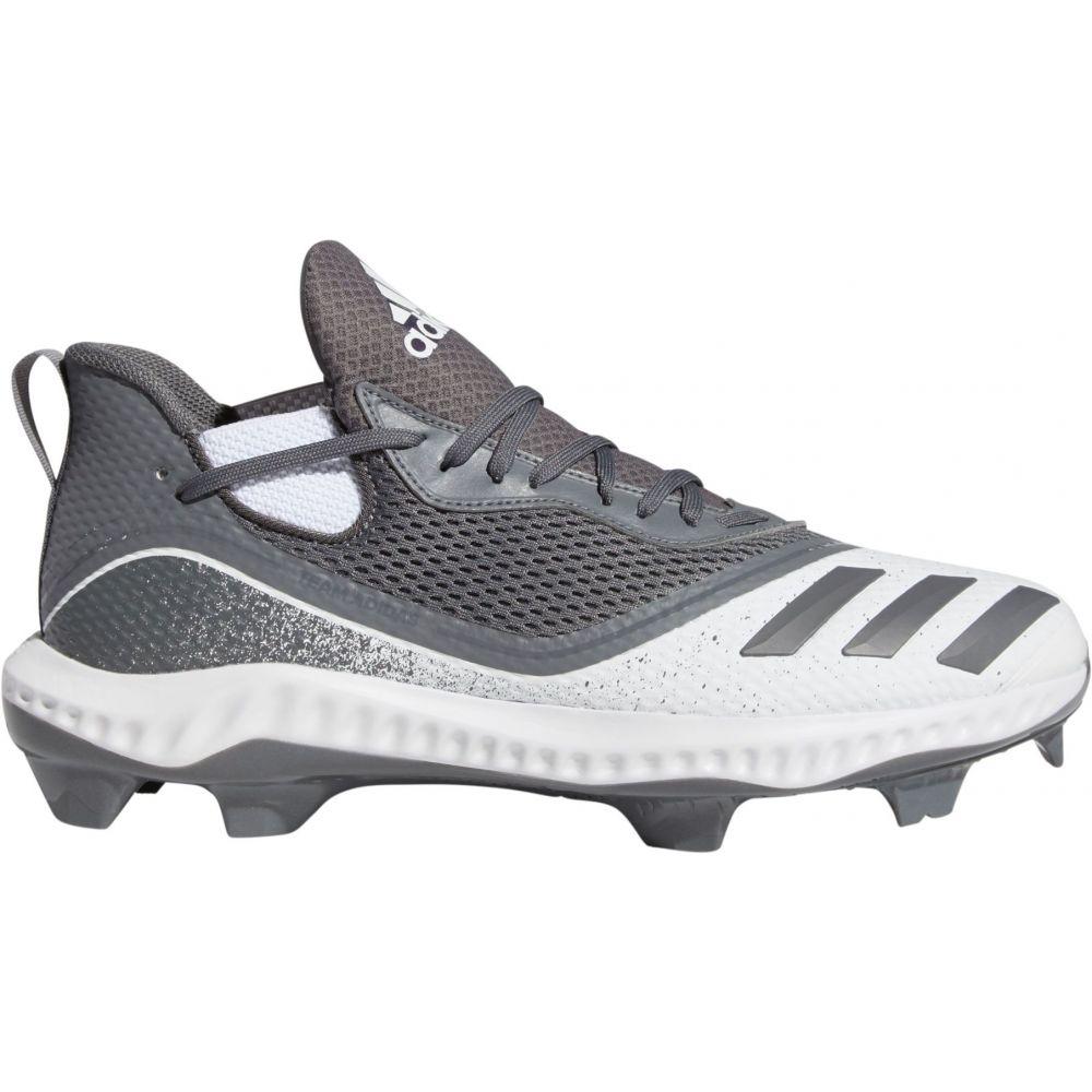 アディダス adidas メンズ 野球 スパイク シューズ・靴【Icon V Bounce Baseball Cleats】Grey/White