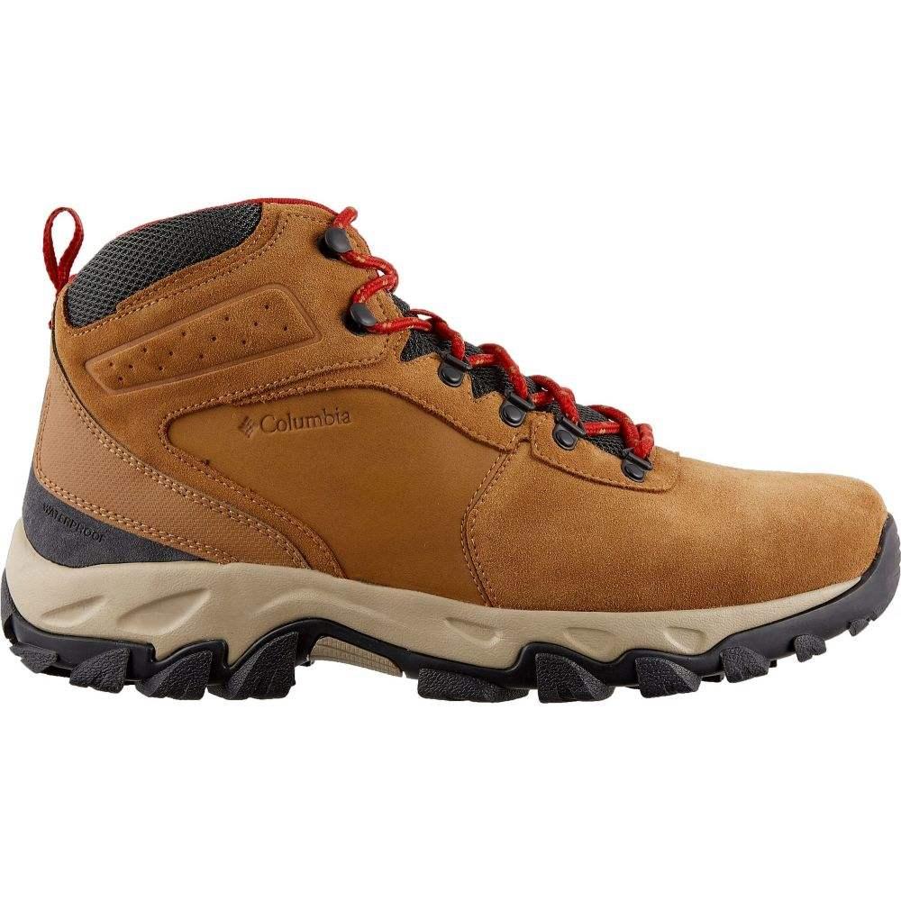 コロンビア Columbia メンズ ハイキング・登山 ブーツ シューズ・靴【Newton Ridge Plus II Suede Waterproof Hiking Boots】Elk
