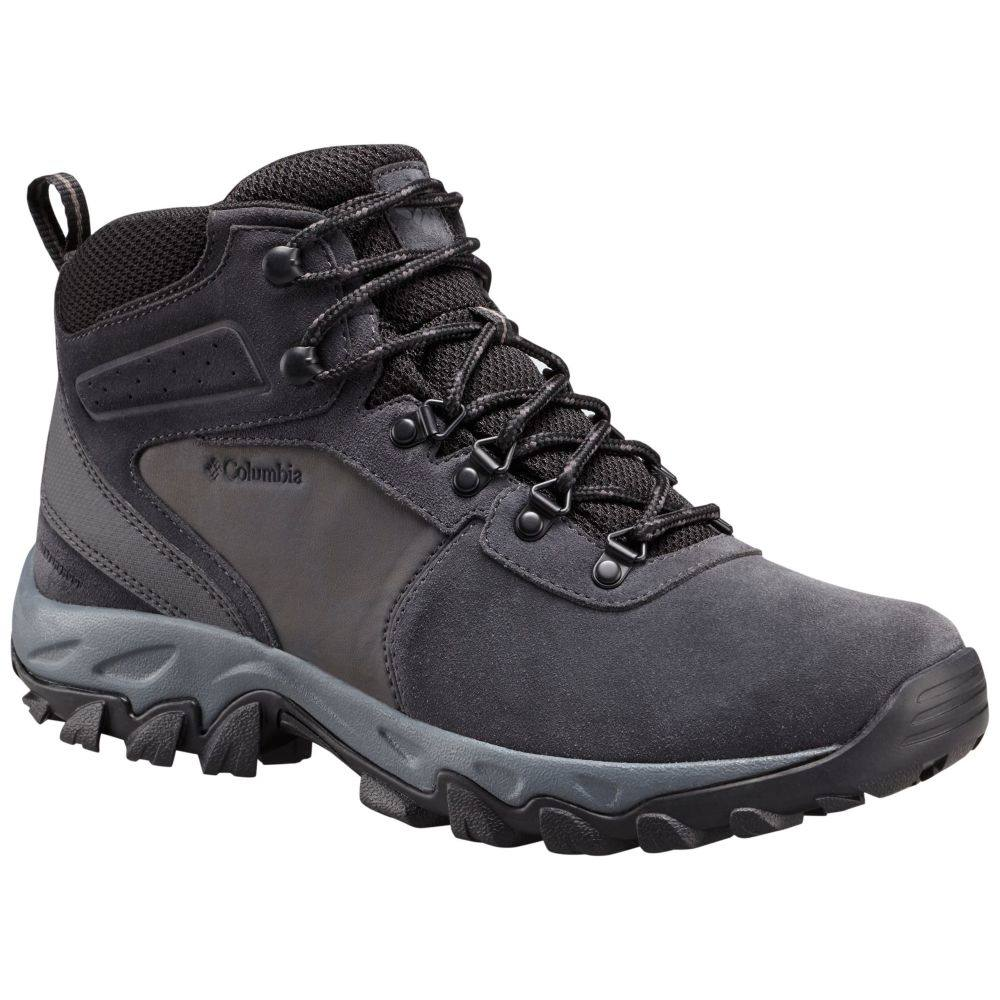 コロンビア Columbia メンズ ハイキング・登山 ブーツ シューズ・靴【Newton Ridge Plus II Suede Waterproof Hiking Boots】Shark/Black