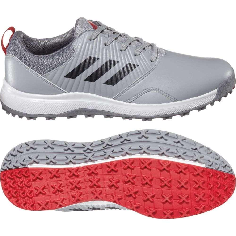 アディダス adidas メンズ ゴルフ シューズ・靴【CP Traxion SL Golf Shoes】Grey/Red